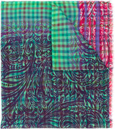 Etro checked scarf - men - Silk/Wool - One Size