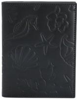 Thom Browne Sea Icon Embossed Passport Holder