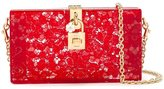 Dolce & Gabbana 'Dolce' box clutch - women - Cotton/Polyamide/Viscose/Other fibres - One Size