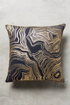 Anthropologie Gleaming Rings Pillow
