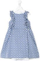 Simonetta tile print dress
