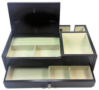 Elégance Valet Jewelry Box MDF Espressor