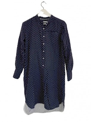 Norse Projects Navy Cotton Dress for Women