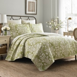 Laura Ashley Twin Rowland Quilt Set Bedding