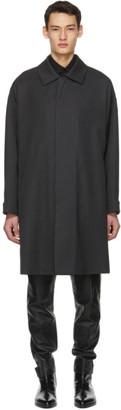 Fear of God Ermenegildo Zegna Grey Wool Trench Coat