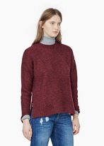 Mango Outlet Ribbed Sweater