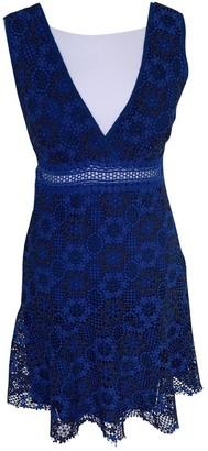 Sandro Blue Lace Dresses