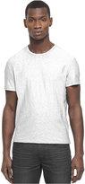 Kenneth Cole Reaction Shirt, Short Sleeve Slub Crew Neck T Shirt