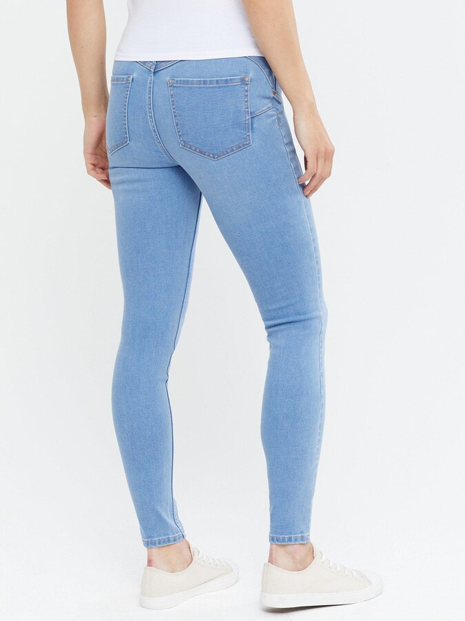Thumbnail for your product : New Look Maternity Under Bump Jeggings - Bright Blue