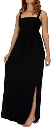 Hurley Lei Maxi Dress (Black) Women's Dress