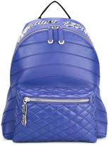Philipp Plein quilted backpack - men - Calf Leather/Polyamide/Metal (Other) - One Size