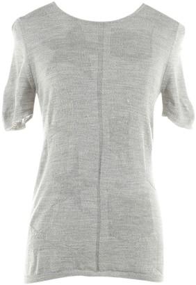 Saint Laurent Grey Wool Top for Women
