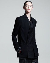 Haider Ackermann Reverse Check-Pattern Lapel Jacket