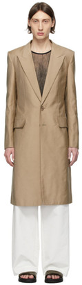 Givenchy Beige Silk Coat