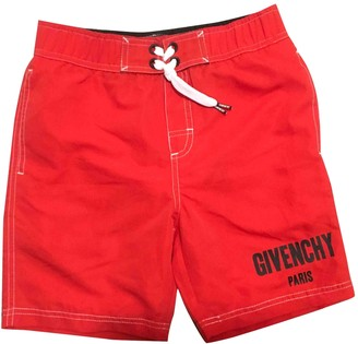 Givenchy Red Polyester Shorts
