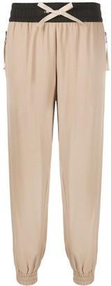Moncler Panelled Drawstring Track Pants