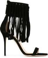 Giuseppe Zanotti Design 'Mistico' fringed stiletto sandals