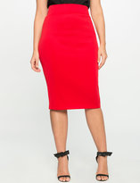 ELOQUII Plus Size Neoprene Pencil Skirt