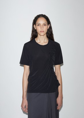 Y's Knit Jersey Gather Tee