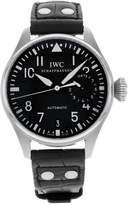 IWC Men's Big Pilot Automatic Dial Genuine Alligator
