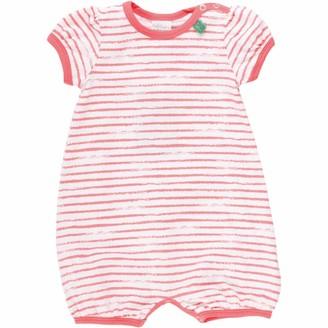 Fred's World by Green Cotton Baby Girls' Ocean Stripe Beach Body Shaping Bodysuit