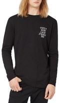 Topman Men's 2Pac Oversized Long Sleeve T-Shirt