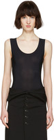 Maison Margiela Black Sleeveless Bodysuit