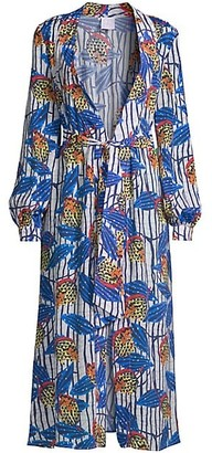 Stella Jean Printed Wrap Dress