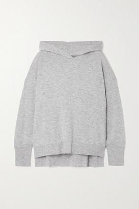 Le Kasha Riga Cashmere Hoodie - Light gray