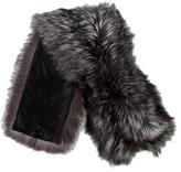 Vera Wang Fox Fur Scarf