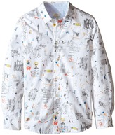 Paul Smith Printed Shirt with Street Signs Boy's Clothing