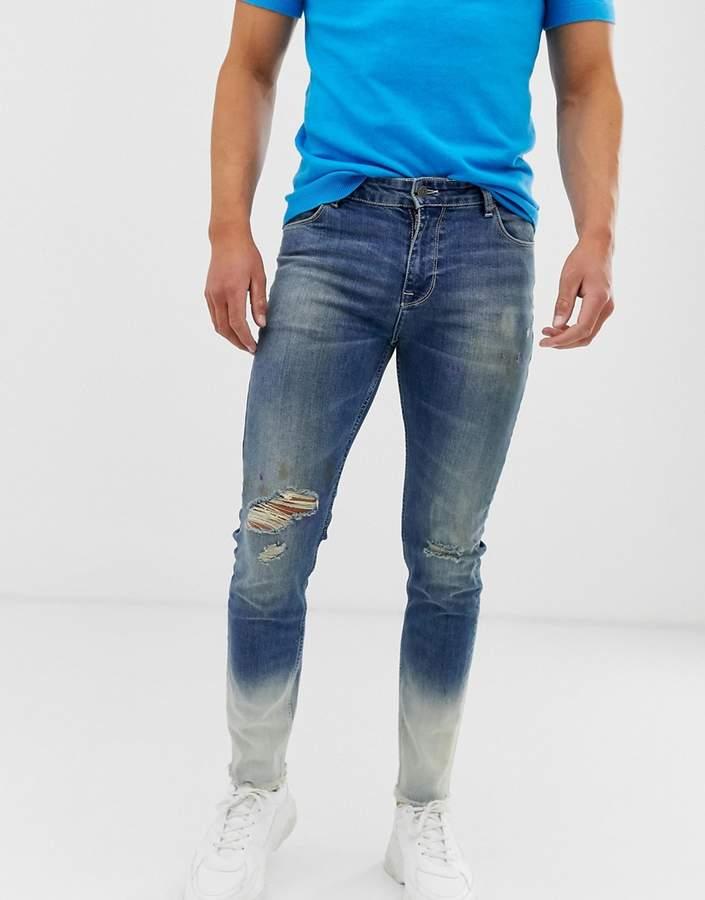 e817ff43451 Asos Men's Distressed Jeans - ShopStyle