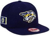 New Era Nashville Predators Flag Stated 9FIFTY Snapback Cap