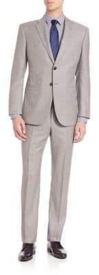 Giorgio Armani Solid Two-Button Suit