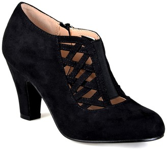 Journee Collection Piper Caged Ankle Bootie - Wide Width
