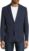 English Laundry Two-Button Dotted Blazer, Navy