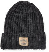Polo Ralph Lauren Rib-Knit Lambswool-Blend Hat