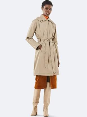 Rains Trench Coat In Beige - XXS/XS