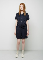 A.P.C. Collared Playsuit