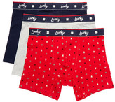 Lucky Brand Holiday Stretch Boxer Brief - Pack of 3