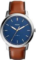 Fossil The Minimalist Watch Braun