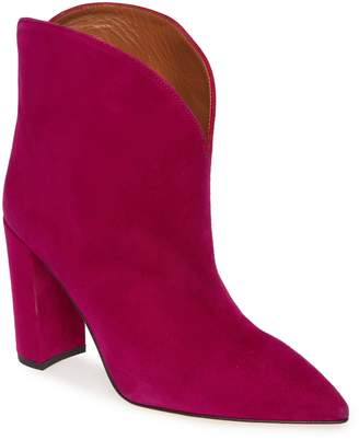 Paris Texas Genuine Calf Hair Ankle Bootie