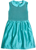 Brooks Brothers Sleeveless Smocked Dress