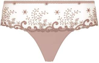 Simone Perele Embroidered Lace Briefs