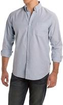 Rainforest Stripe Stretch Oxford Shirt - Long Sleeve (For Men)