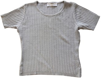 Balenciaga Grey Wool Knitwear for Women Vintage