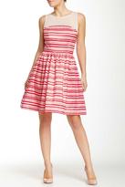 Taylor Stripe Illusion Dress 5450M