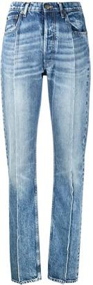 Maison Margiela Seam-Detail High-Rise Jeans