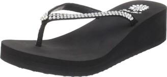 Yellow Box Women's Custard Flip Flop Sandal
