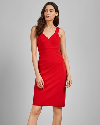 Ted Baker Sleeveless Fitted Dress